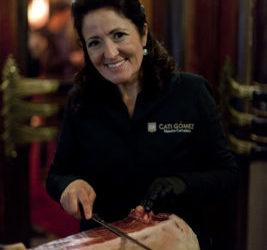 Cortadora Profesional – Professionele Hamsnijdster voor uw evenement