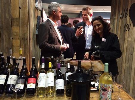 Intervieuw tijdens de Wine Professional