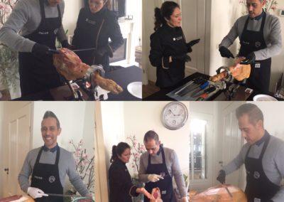 Workshop Ham snijden