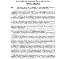 Ibérico law and regulation