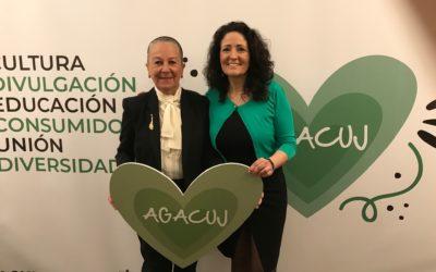 DeOorkonde 2018 van AGACUJ uitgereikt aan María Auxiliadora Martín Santos